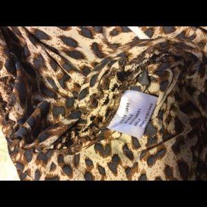 Tadashi Shoji Dresses - Tadashi Shoji Cheetah Print Convertible Dress/Top